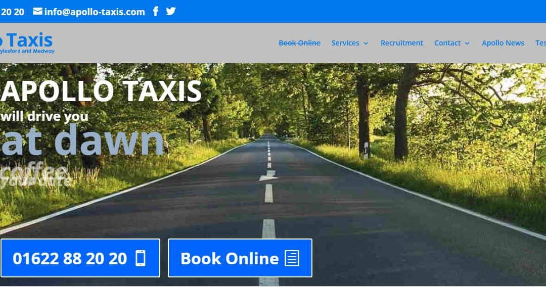 Welcome To Our New Apollo Taxis Website